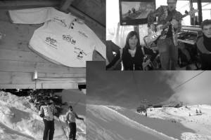 Skifahren-Golm